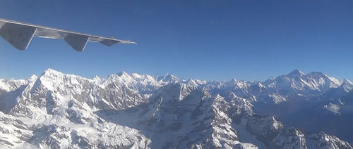 Mount Everest Tourist Flight - Nepal